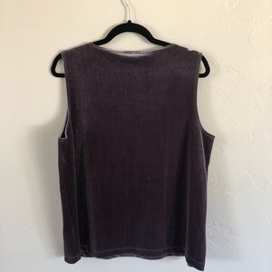 Chico's Tops - NWT Chico's Traveller's Collection Velvet Tank